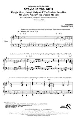 Mark Brymer: Stevie in the 60s: Mixed Choir