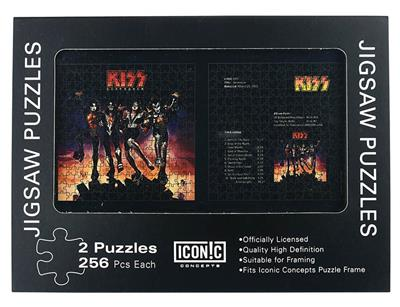 Kiss: Destroyer - Dual Pack Puzzle: Gifts