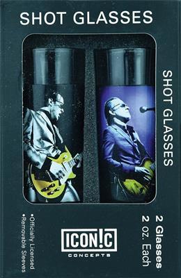 Joe Bonamassa 2-Piece Shot Glass Set - Lithos 1: Gifts