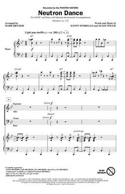 Mark Brymer: Neutron Dance: Mixed Choir