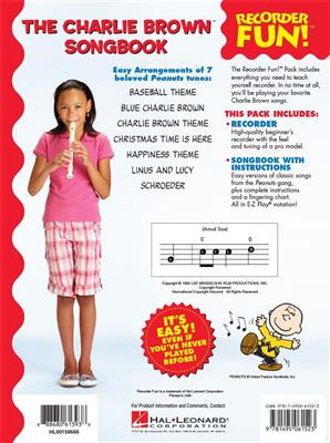 The Charlie Brown(TM) Songbook - Recorder Fun!: Descant Recorder