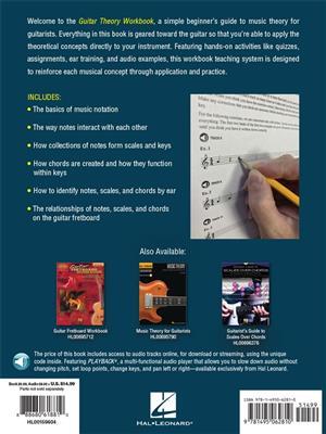 Guitar Theory Workbook: Guitar or Lute