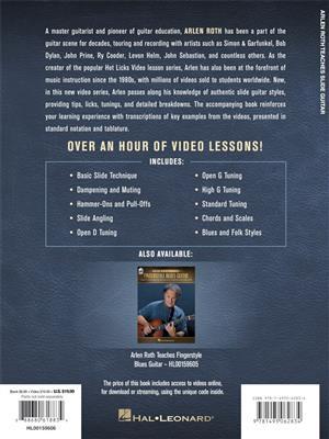 Arlen Roth: Arlen Roth Teaches Slide Guitar: Guitar or Lute