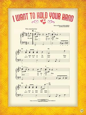 My First Rock Song Book: Easy Piano
