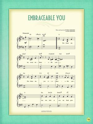 My First Gershwin Song Book: Easy Piano