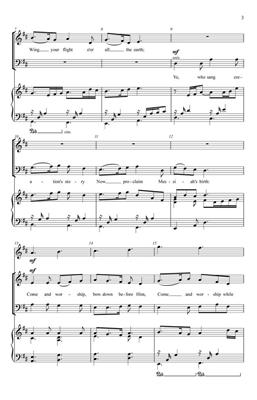 James Montgomery: Now Proclaim Messiah's Birth: SATB
