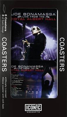 Joe Bonamassa Tin Coaster Set - Royal Albert Hall: Gifts