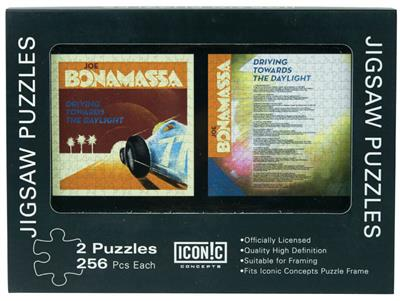 Joe Bonamassa Double Jigsaw Puzzle Set -256 Pieces