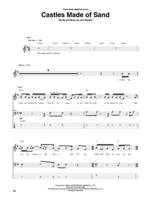 Jimi Hendrix: Jimi Hendrix Bass Tab Collection: Double Bass