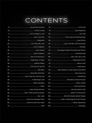 First 50 Songs by The Beatles: Piano or Keyboard