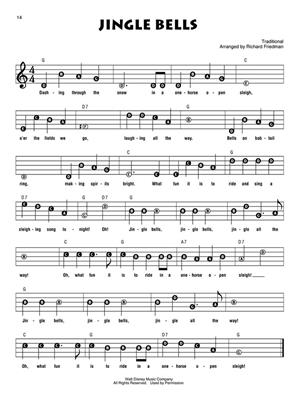 Disney Christmas: Descant Recorder