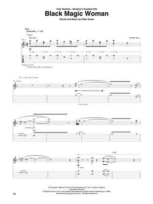Santana Guitar Anthology: Guitar Solo