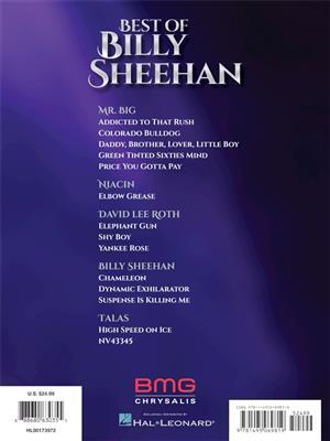 Billy Sheehan: Best of Billy Sheehan: Bass Guitar