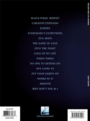 Van Halen: The Very Best of Santana: Guitar or Lute