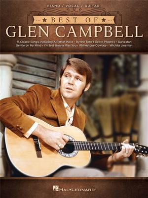 Best of Glen Campbell: Piano, Vocal and Guitar (songbooks)