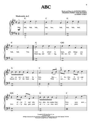 Motown: Easy Piano