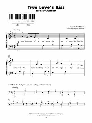 Disney Today - Five Finger Piano Songbook: Piano or Keyboard