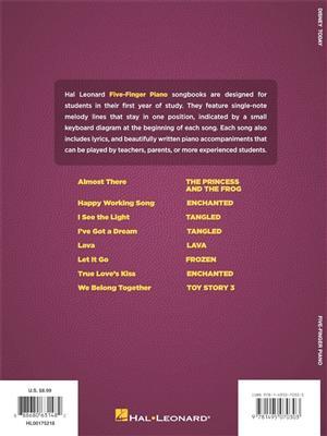 Disney Today - Five Finger Piano Songbook: Piano