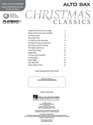 Christmas Classics - Alto Saxophone: Saxophone