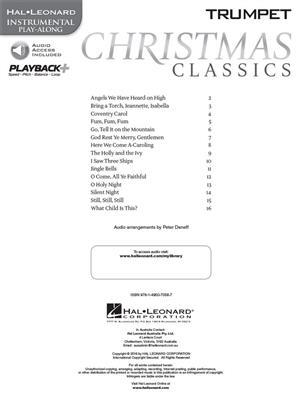 Christmas Classics - Trumpet: Trumpet, Cornet or Flugelhorn