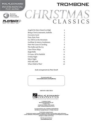 Christmas Classics - Trombone: Trombone