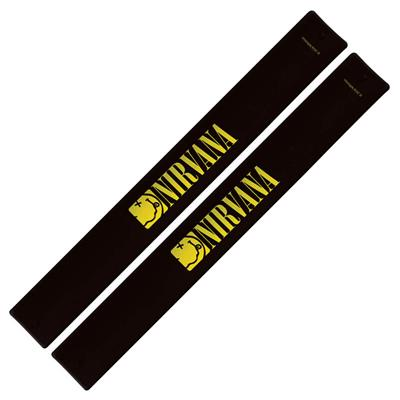 Nirvana Slap Band 2-Pack - Smiley Logo: Gifts