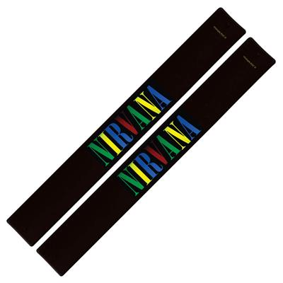 Nirvana Slap Band 2-Pack - Multi Color Logo: Gifts