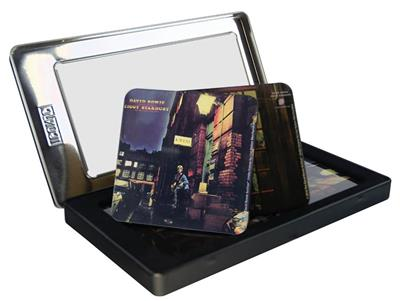 David Bowie Tin Coaster Set - Ziggy Stardust: Gifts