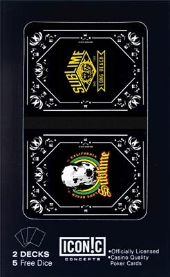 Sublime Double Deck Playing Cards: Gifts
