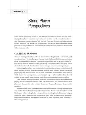 Arranging for Strings: Books on Music