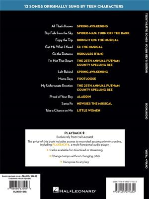 Teen Theatre Songs: Young Men's Edition: Men's Choir