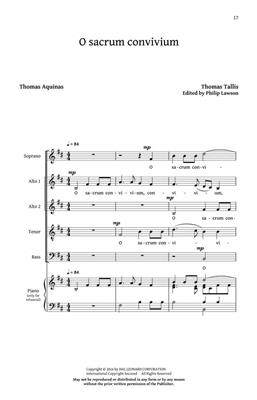 Thomas Tallis: Prayers And Partsongs (collection): Mixed Choir