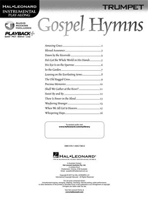 Gospel Hymns - Trumpet: Trumpet, Cornet or Flugelhorn