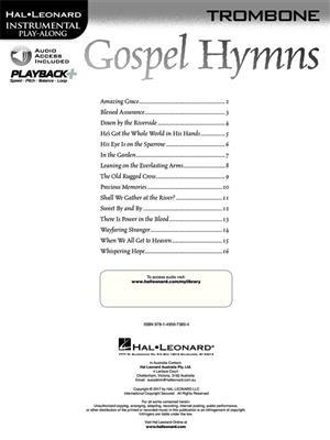 Gospel Hymns - Trombone: Trombone