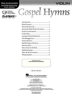 Gospel Hymns - Violin: Violin