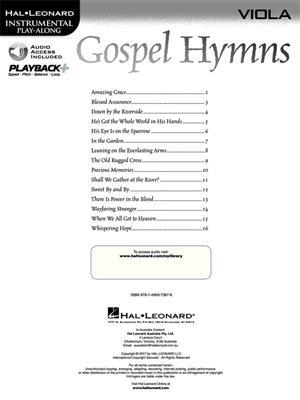 Gospel Hymns - Viola: Viola