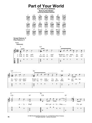 Contemporary Disney: Easy Guitar with Notes & Tab: Guitar or Lute