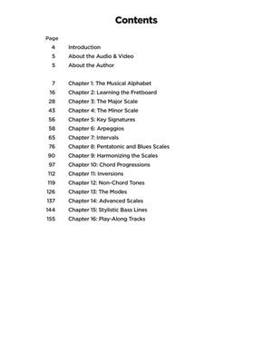 Music Theory for Bass Players