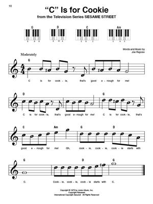 Kids' Songs - Super Easy Songbook: Piano or Keyboard