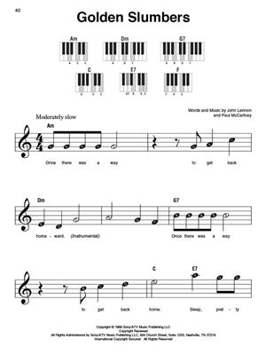 The Beatles - Super Easy Songbook: Piano or Keyboard