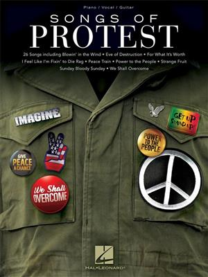 Songs of Protest: Piano, Vocal and Guitar (songbooks)