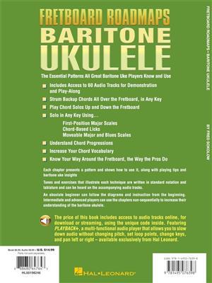 Fretboard Roadmaps - Baritone Ukulele
