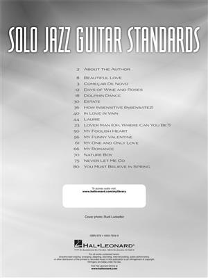 Mark Otten: Solo Jazz Guitar Standards: Guitar or Lute