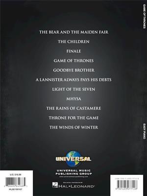 Ramin Djawadi: Game of Thrones: Piano or Keyboard