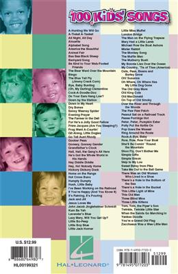 100 Kids' Songs: Piano or Keyboard
