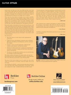 Jim Kelly: Berklee Guitar Style Studies: Guitar or Lute