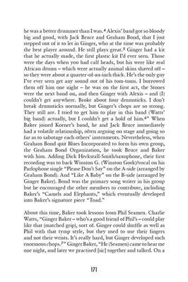 Charlie Watts: Charlie Watts' Favorite Drummers: Books on Music