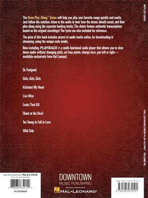 Blink-182: Mötley Crüe: Drum Kit
