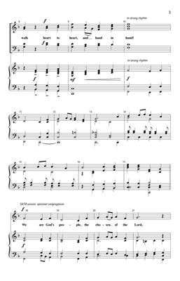 Johannes Brahms: We Are God's People: Arr. (Duane Funderbunk): SATB