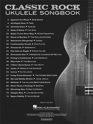 Classic Rock Ukulele Songbook: Ukulele